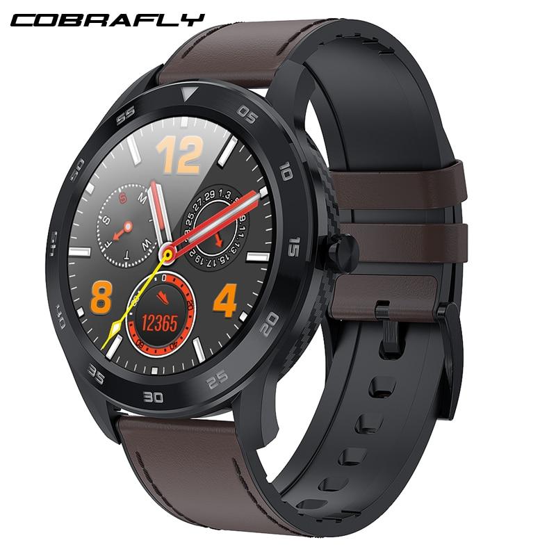 Cobrafly DT98 Smart Watch Men IP68 Waterproof Bluetooth Call PPG Heart Rate Blood Pressure Monitor Smartwatch for huawei xiaomi