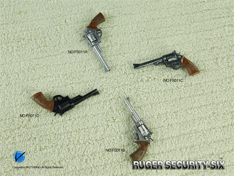 Viking 1/6 buger arma de segurança modelo soldado arma brinquedo para 12in figura ação acessórios