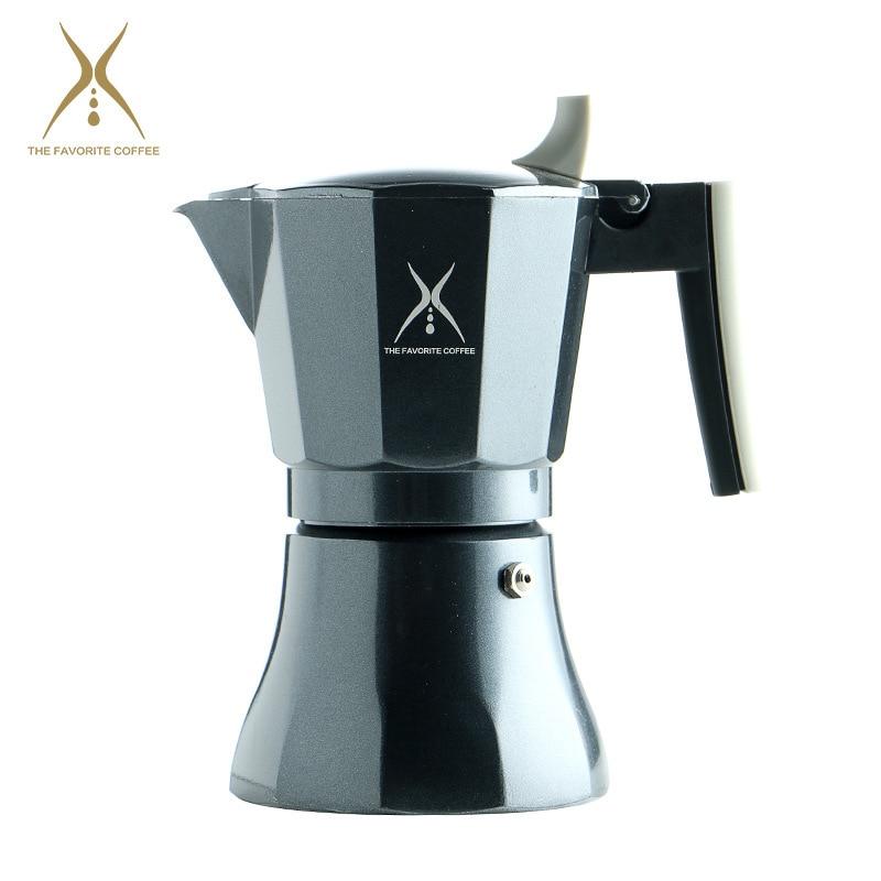 304 الفولاذ المقاوم للصدأ صانع القهوة براد لصنع الموكا السخان آلة صنع القهوة إبريق قهوة اسبريسو بريور قهوة بالحليب أدوات Percolator موقد