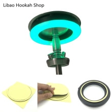 Hookah Shisha LED Light RGB Round Plate 160MM Narguile Nargile Chicha Accessories Festive Party Deco