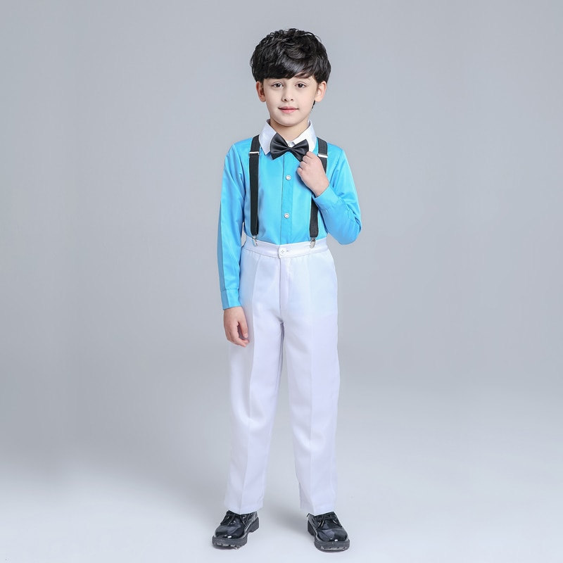 mooer reverie chorus twin series two channel stereo 5 modes digital chorus pedal with true bypass Ballet Children's Chorus Costumes Boys Bib Boys Primary School Chorus Mission Dance Performance Costumes