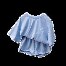 2021 New Boy Clothes Set Girls Summer  Clothing Children's Pajamas Children's Suit Kids Suit Set 1-5