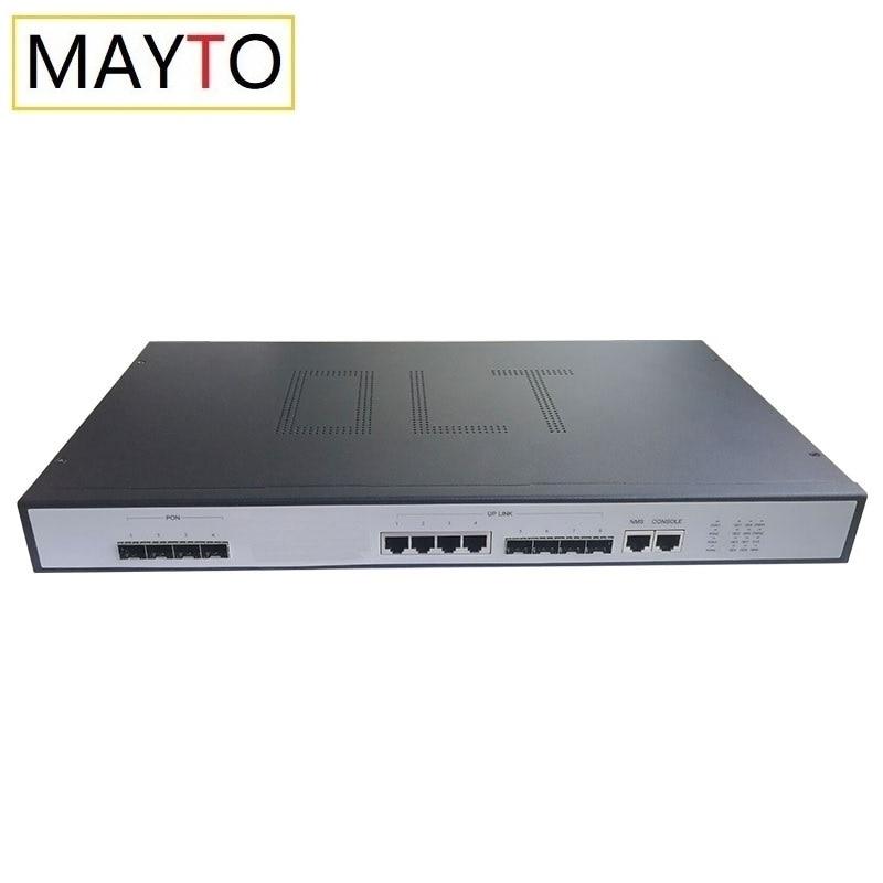 MAYTO EPON OLT 4PON Ports FTTH CATV Carrier-Grade High-Density Fiber Optic High Quality 1.25G Professional PX20+ and EPON ONU