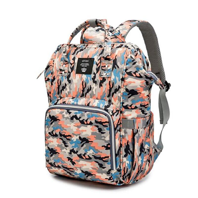 Maternity Travel Backpack  Handbag Nappy Diaper Bag for Mom Multicolor Stroller baby care Portable