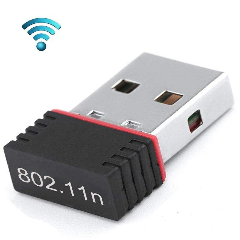 150 Мбит/с мини USB WiFi адаптер Wi-Fi 802,11 для ПК USB Ethernet WiFi ключ 2,4G сетевая карта антенна WiFi приемник