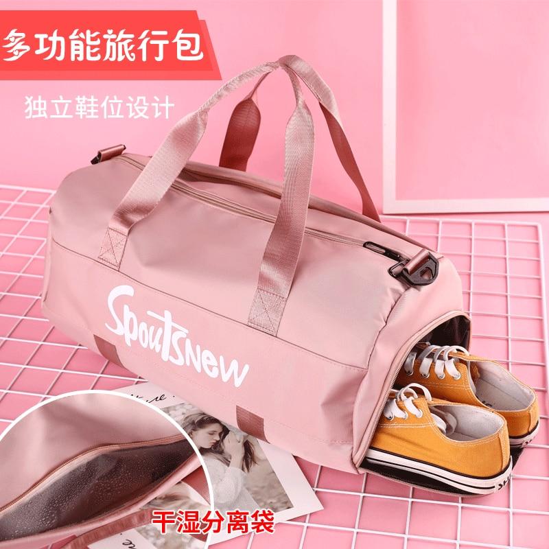 Designer Backpacks  Travel Light Luggage Bag Fashion Large Capacity Fitness Bag Dry Wet Separation Sports Bag Bags for Women