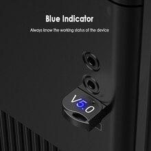 Pour ordinateur Mini USB Bluetooth 5.0 Bluetooth adaptateur récepteur sans fil Bluetooth Dongle musique Bluetooth émetteur