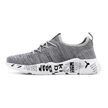 Male light outdoor sports comfortable sneakers large size gray summer mesh breathable fashion casual