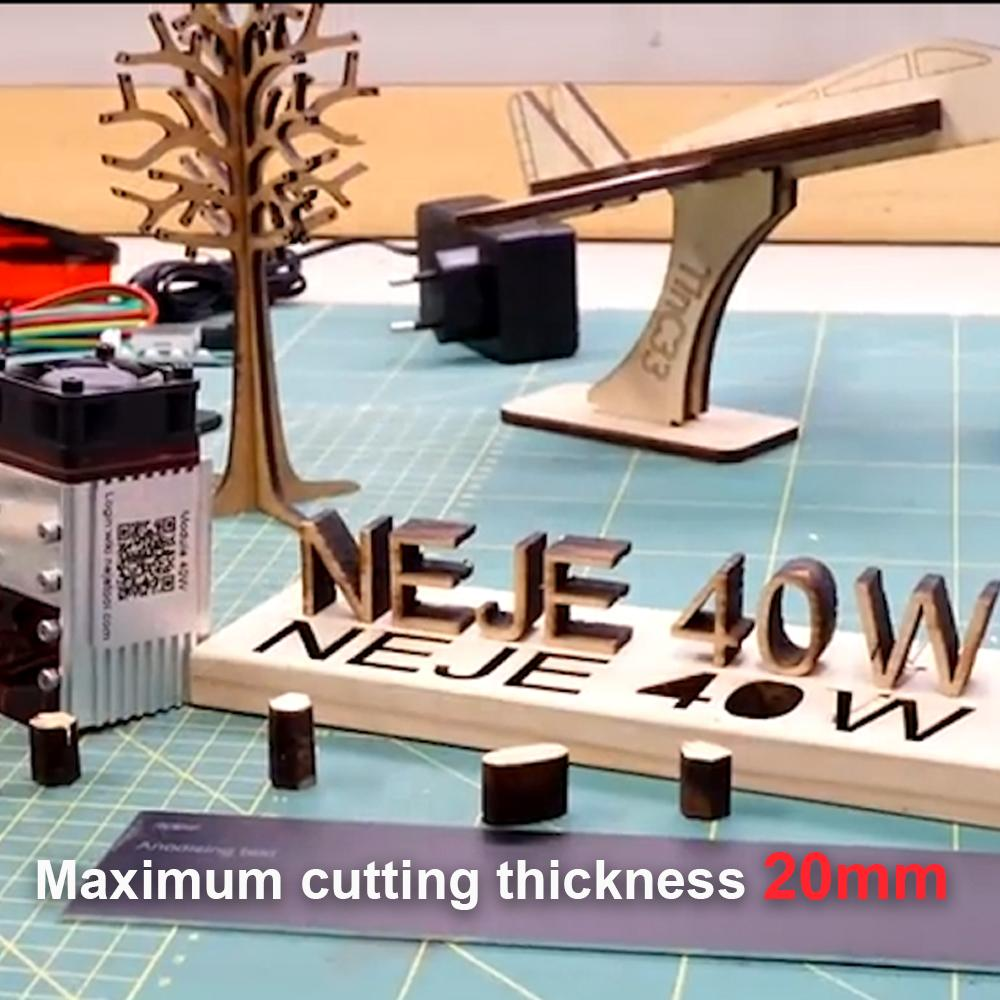 NEJE Master 2S Plus 255 x420 mm 40W CNC Wireless  Cutter, Wood Router 32-bit Control System Built-in Fast Intelligent Drive enlarge