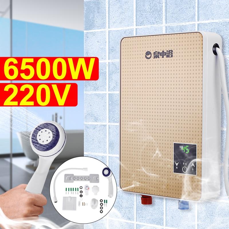 3s-instant-hot-6500w-220v-electric-hot-water-heater-tankless-instant-boiler-bathroom-shower-set-thermostat-safe-intelligent