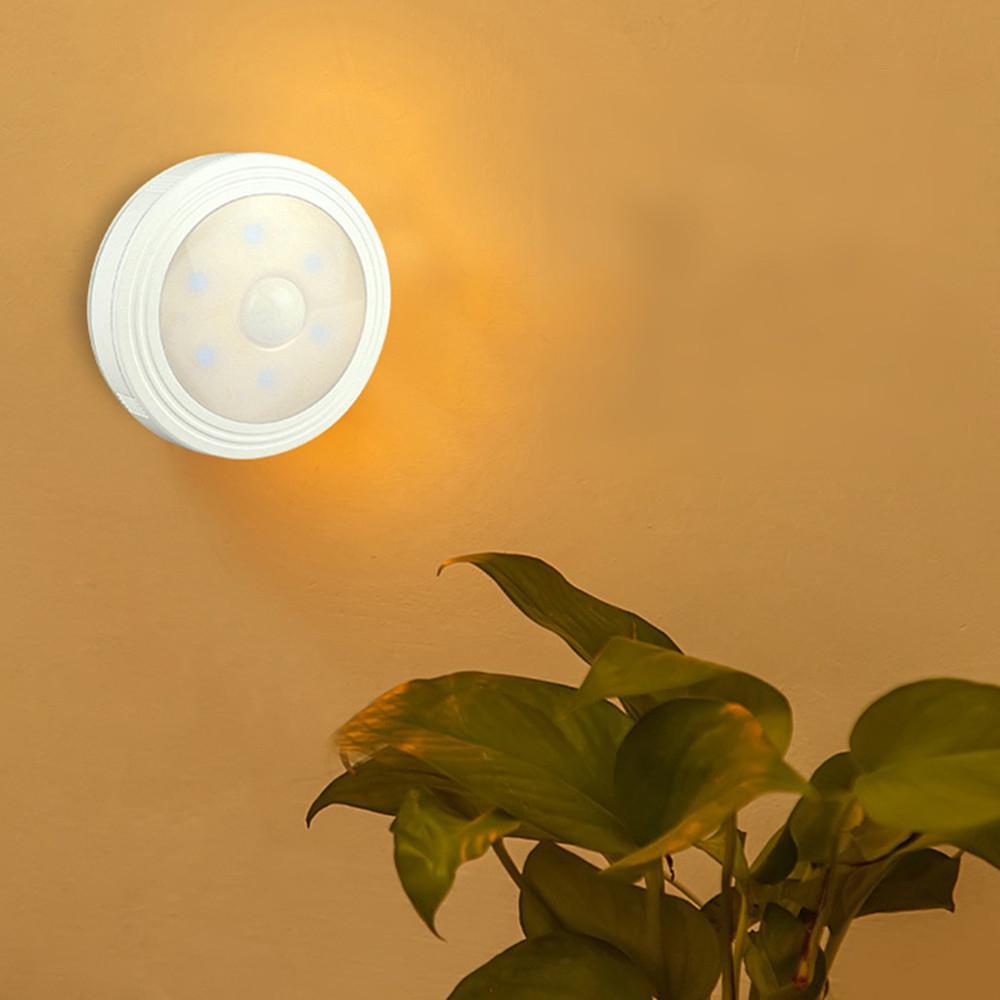 1PC 6 lámpara cuentas novedad luces PIR cuerpo sensor de movimiento activación...