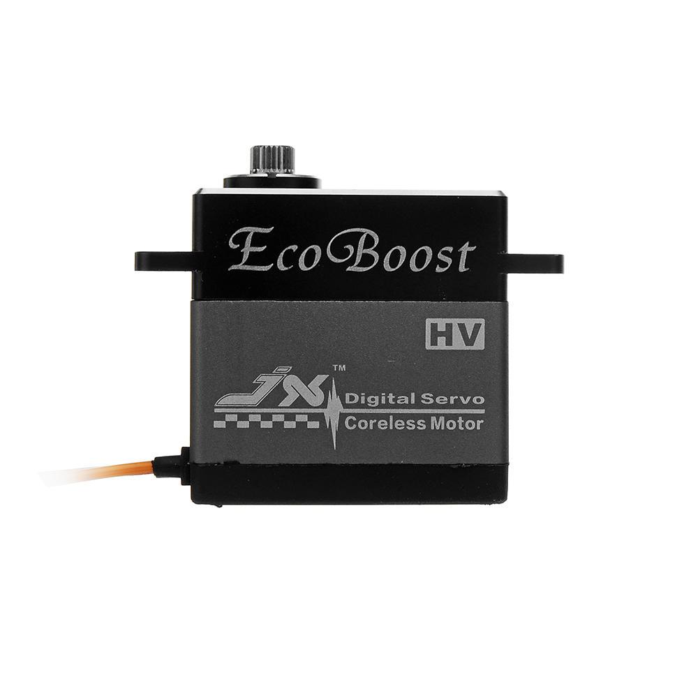 CLS6322HV JX Ecoboost 0.07sec 21KG Large Torque 180 degree CNC Alum Shell Metal Gear Digital Coreless Servo for RC Scaler enlarge