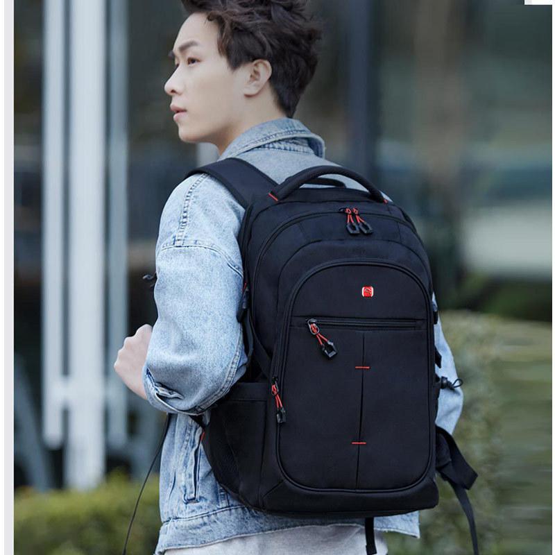 شاومي Mijia 25L الرجال سعة كبيرة على ظهره الرجال 15 بوصة حقيبة الكمبيوتر مقاوم للماء حقيبة السفر متعددة الوظائف حقيبة الظهر
