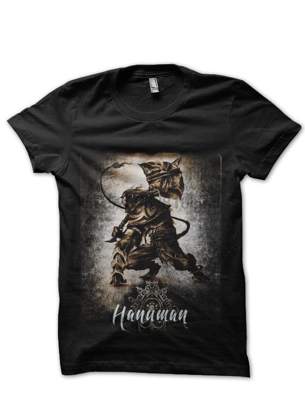 Camiseta negra Hanuman
