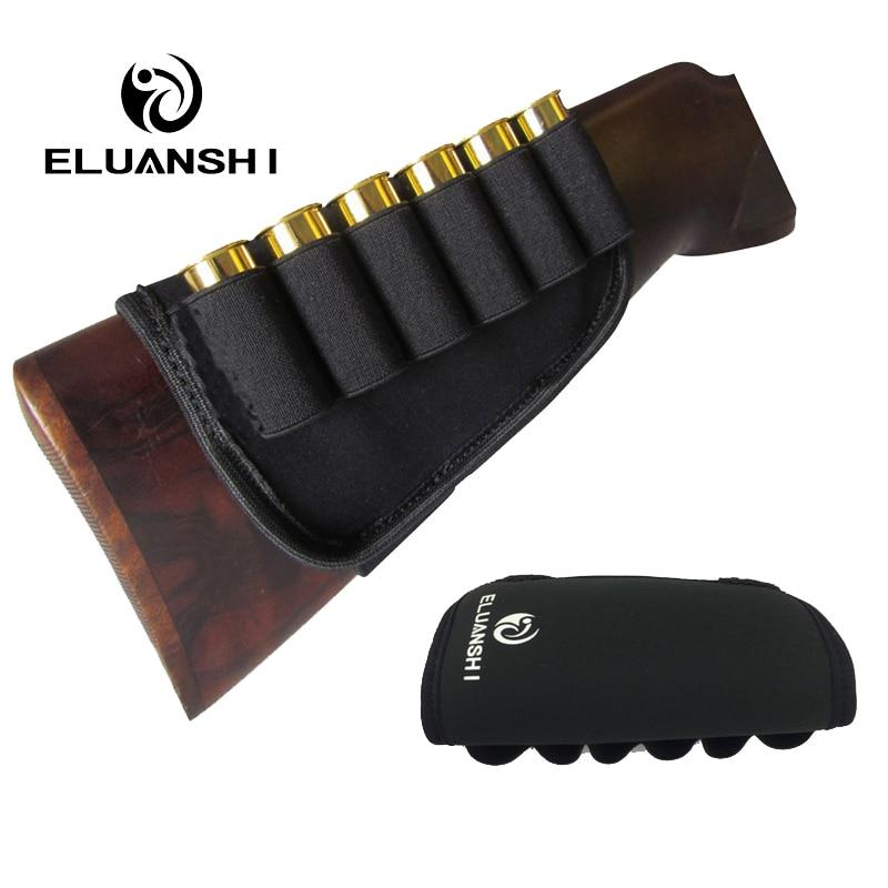 Penebalan mencegah tergelincir punggung elastik 12 tolok peluru kes beg peluru memburu beg sarung aksesori pistol nilon
