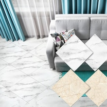 DIY 30*30cm 3D Selbst Klebstoff Marmor Muster PVC Grenze Aufkleber Wasserdichte Boden Aufkleber Abnehmbare Hintergrund Wand Dekor panels