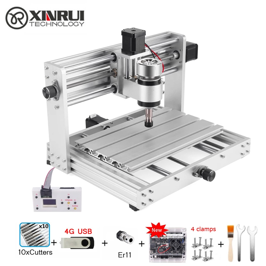 CNC 3018 PRO MAX GRBL Control 200w 3 Axis Pcb Milling Machine,DIY Wood Router Support Laser Engraving