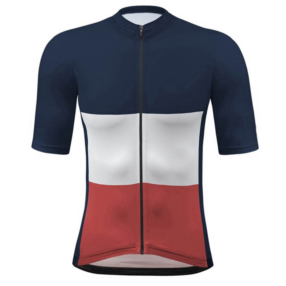 Camisetas rojas de ciclismo para hombre y camisetas de manga corta para...