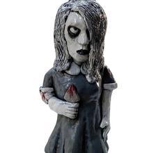 Creatived Horror Sculpture Garden Statue Horror Movies Shape Statue Halloween Sculpture For Home Pat