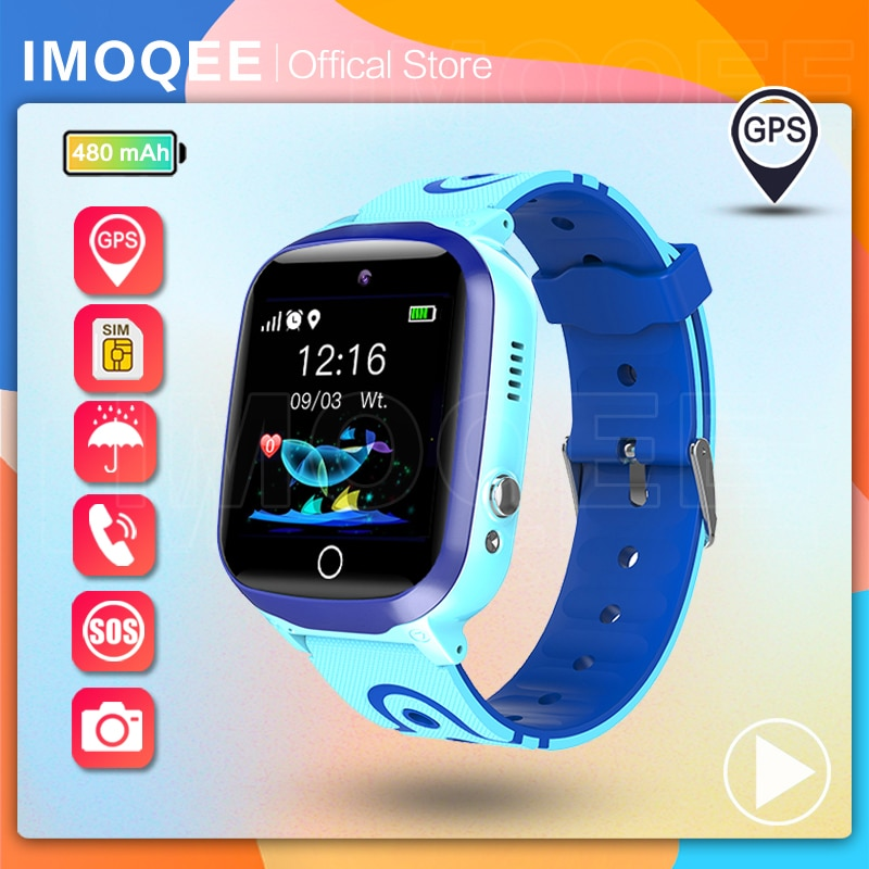 New 2021 Smart Watch Kids GPS Q13 Pedometer Positioning IP67 Waterproof Watch For Children Safe Smar