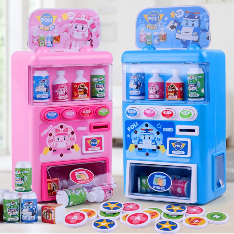 Juego creativo de compras de música para niños, juguetes de supermercado, máquina expendedora, juego de compras para niños