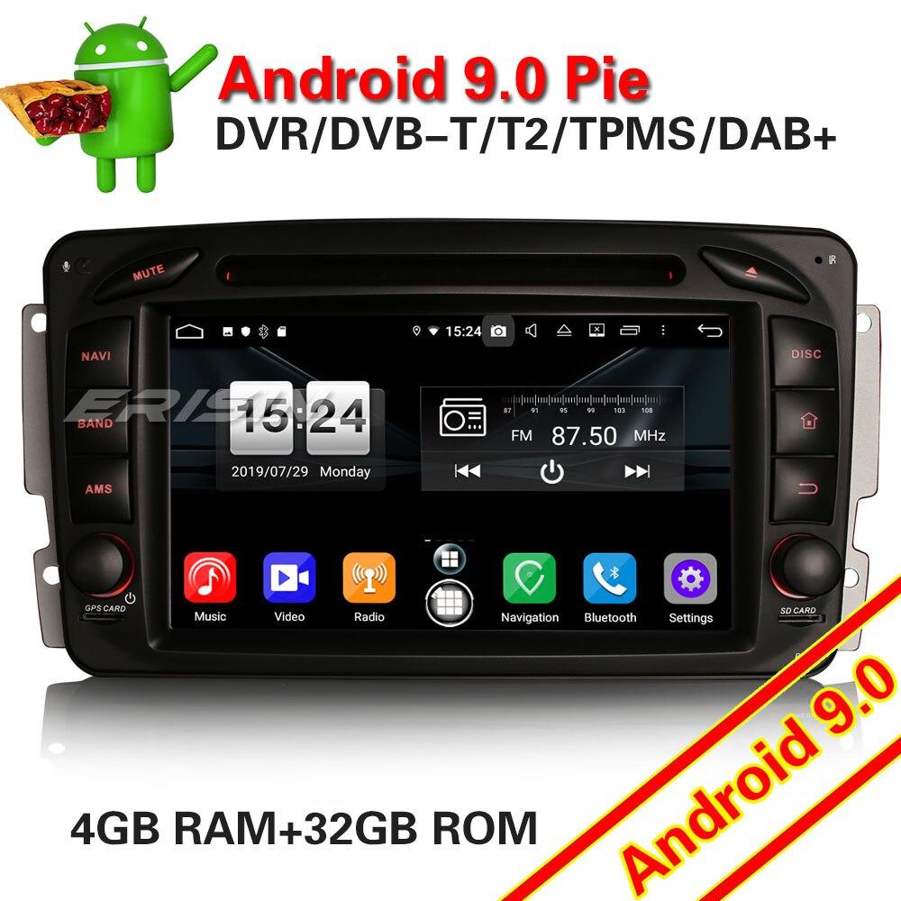 7716 DAB + Android 9,0 GPS estéreo de coche para Mercedes Benz C/CLK/Clase G Viano Vito W203 W209 W463 Radio Autoradio reproductor Multimedia