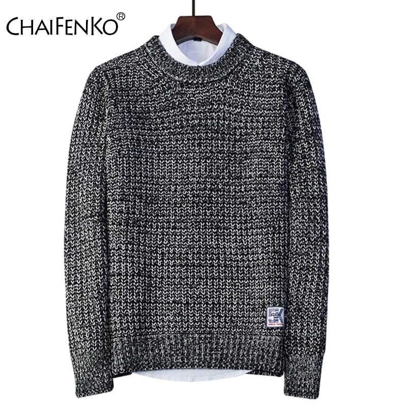 CHNIFENKO Fashion Sweater Men 2020 Autumn New Casual Harajuku Pullover Men Streetwear Hip Hop O-Neck Winter Slim Fit Men Sweater