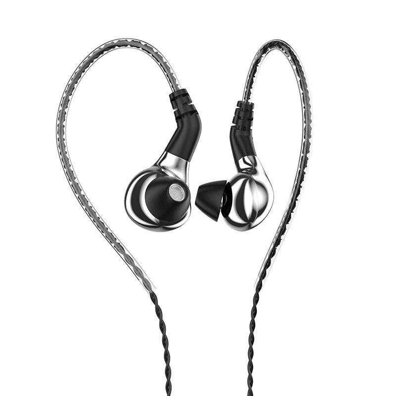 Наушники-вкладыши BLON BL-03, карбоновые динамические наушники-вкладыши с диафрагмой 10 мм, Hi-Fi, DJ, для бега и занятий спортом, съемный 2PIN кабель