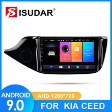 ISUDAR Car Radio For Kia CEED Cee'd 2 JD 2012-2016 2 din Android 9 Autoradio Multimedia GPS DVR Camera RAM 2GB ROM 32G Radio IPS