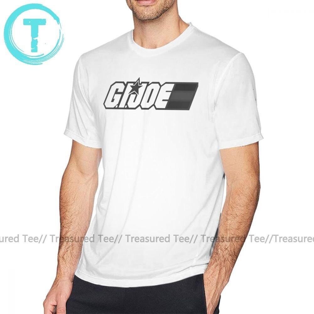 Gi joe t camisa enegrecida yo joe camiseta de algodão divertido camisa masculina de manga curta 6xl impressão verão tshirt
