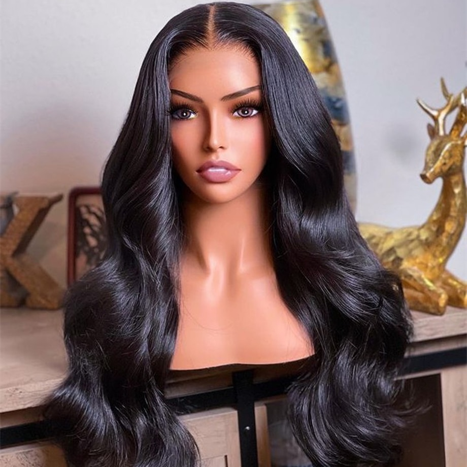 Body Wave Lace Front Wig 28 30 40 Inch 13x4 Hd Lace Frontal Wigs For Black Women Brazilian wet and w