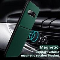 Чехол для телефона, силиконовый магнитный для Samsung Galaxy S10/S20/S21 Ultra Plus/S/20/10E/10 e