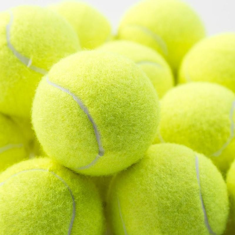 1pcs Professional Reinforced Rubber Tennis Ball Shock Absorber High Elasticity Durable Training Ball
