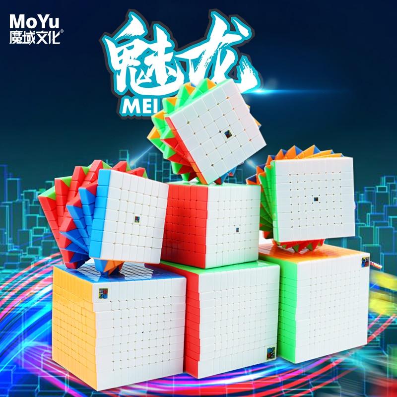 Кубики-пазлы MoYu Meilong, 6x6, 7x7, 9x9, 10x10, 11x11, 12x12