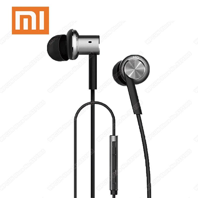 Auriculares Xiaomi Mi In-Ear Hybrid Pro HD con micrófono Cancelación de ruido Mi auriculares con doble controlador dinámico + armadura equilibrada para Redmi