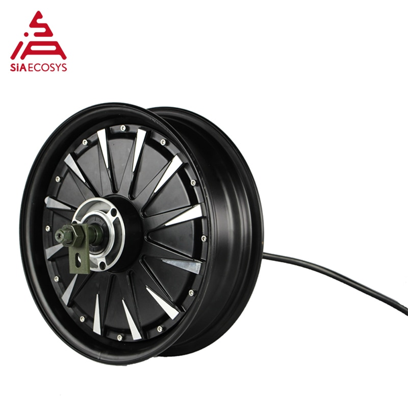 QS Motor 2019 12*3.5inch 1500W 48V 55kph BLDC E-Scooter Hub Motor Kits Power Train with EM50SP controller enlarge