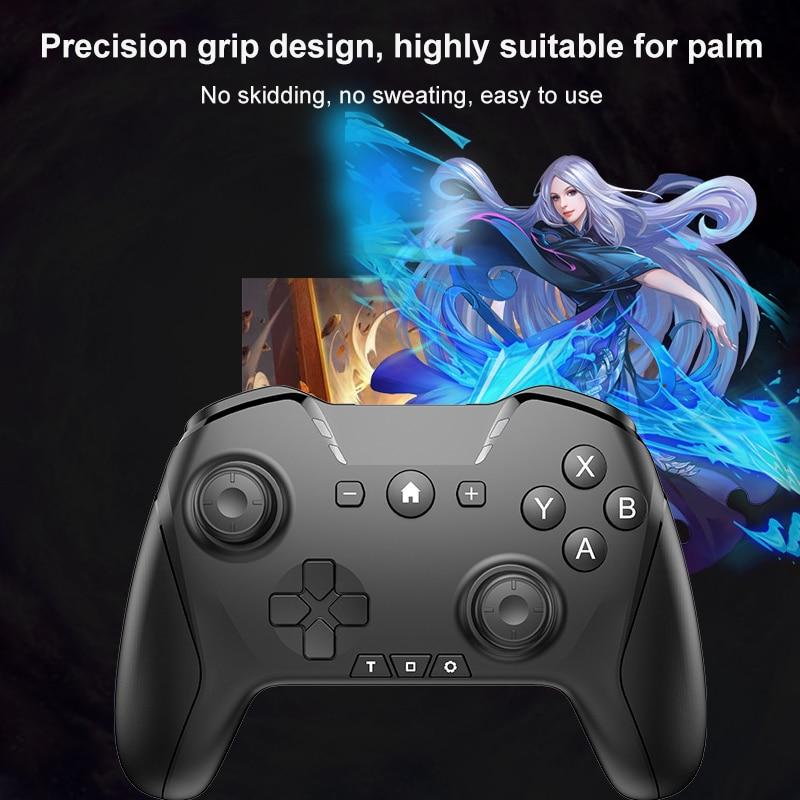 Controle para n-switch ns-switch, novo controle de videogame sem fio, usb, joystick, novo, 2021