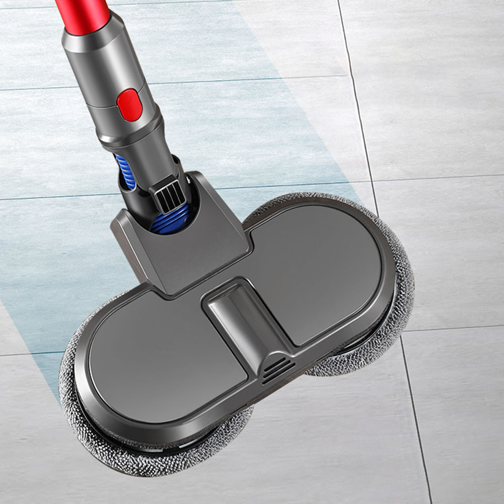 Reemplazo de cabeza de mopa eléctrica seca y húmeda para Dyson V7 V8 V10 V11 aspiradora fino suave fregona de fibras ahorro de trabajo