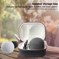 Haut-parleur intelligent boitier de protection rigide son haut-parleur boites peu encombrantes pour Apple HomePod Mini etui de transport
