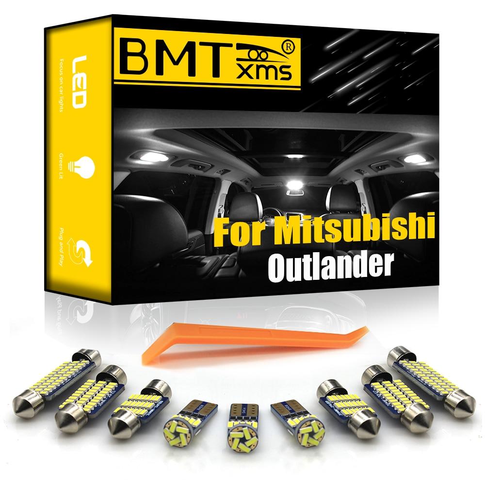BMTxms для Mitsubishi Outlander 1 Xl 2 3 Canbus автомобильная светодиодная внутренняя карта купольная подсветка багажника (2001-2020) Автомобильная подсветка