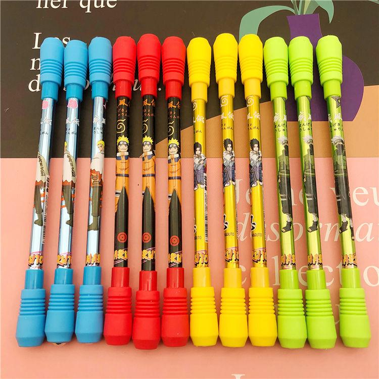 Ручка вращающаяся для детей и студентов, забавная игровая, для письма, шариковая ручка, Канцтовары, школьные принадлежности