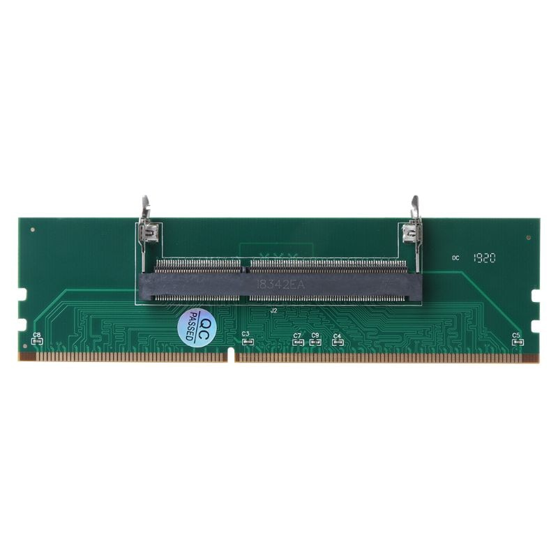 2021 New DDR3 SO DIMM to Desktop Adapter DIMM Connector Memory Adapter Card 240 to 204P Desktop Comp