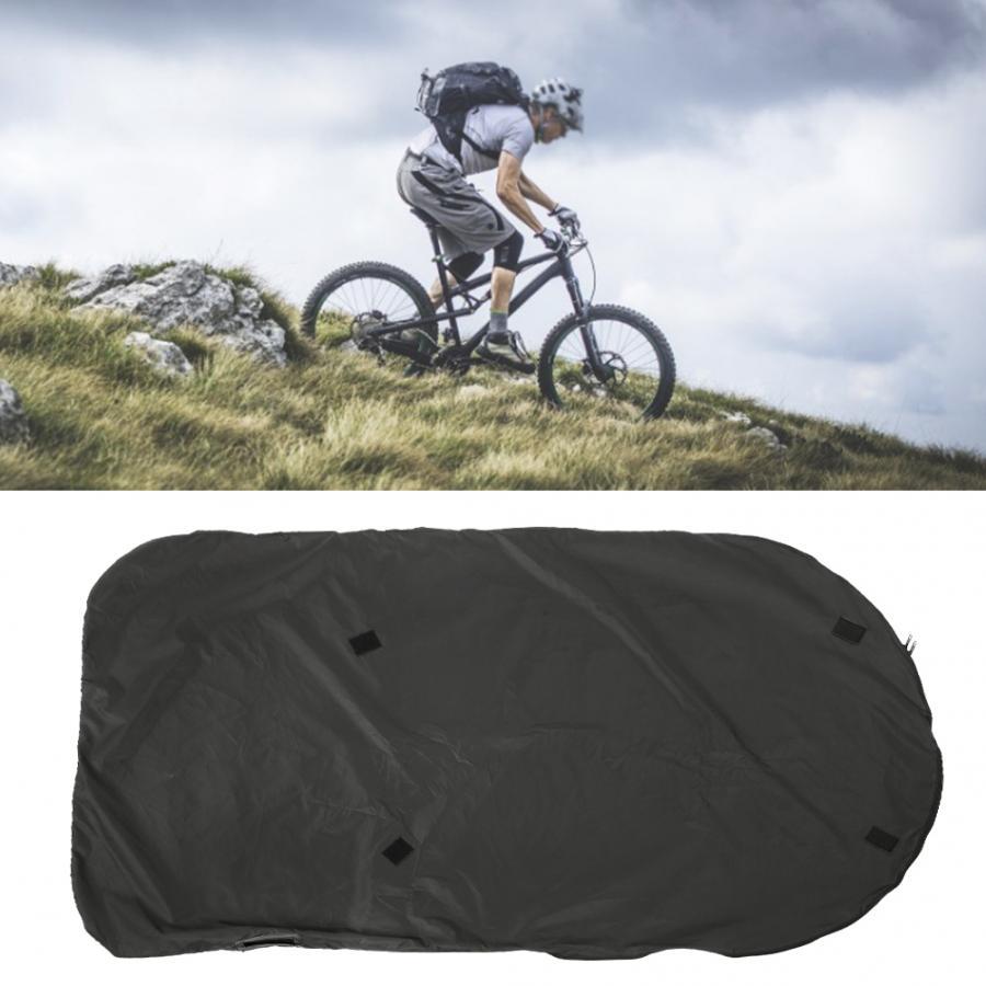 Nueva bolsa de carga de bicicleta plegable portátil de Nylon doble impermeable de 26 pulgadas para accesorios de bicicleta