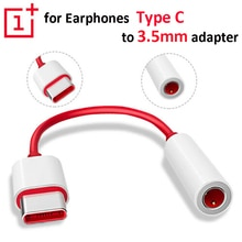 USB Type C To 3.5mm Earphone Jack Adapter Audio Cable Connector for One Plus 7 Usb-c Music Converter