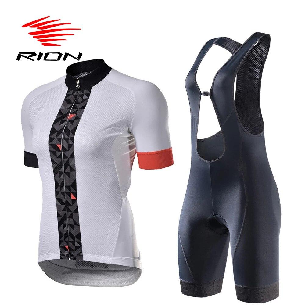 Conjunto de Camisa de Ciclismo Bicicleta de Estrada Rion Feminino Anti-uv Mountain Bike Roupas Secagem Rápida Ciclismo Conjunto Ropa Mtb
