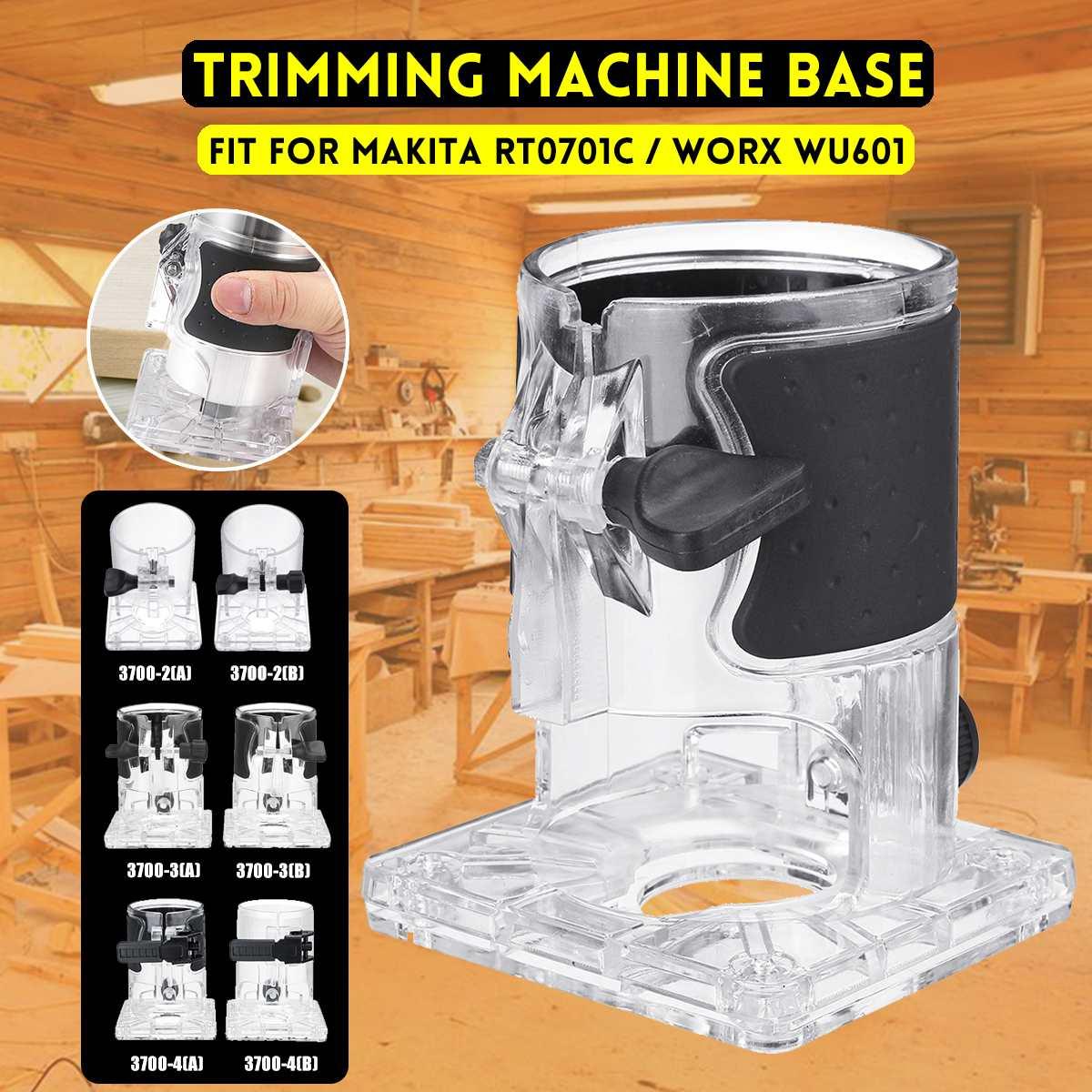 Trimmer Base Balance Board Woodworking Edge Cutter Electric Trimmer Machine Base For Makita RT0701C/Worx WU601