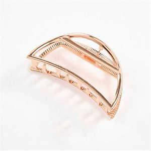 Trendy Big Modern Hair Claw Metal Hair Clips For Women Stylish L/S Hair Accessories