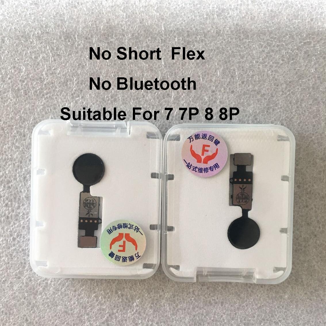אוניברסלי לחצן בית Flex כבל עבור iPhone 7 8 בתוספת תפריט לוח מקשים חזור על כיבוי Fuction פתרון
