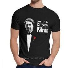 Narcos Del Patron Pablo Escobar El Chapo T-shirt Classique O-cou Coton Unisexe À Manches Courtes T-shirt Drôle T-shirts Sweatshirt Hauts
