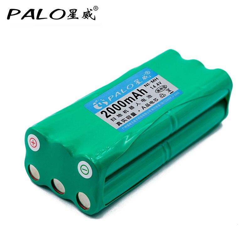 PALO робот-пылесос 14,4 В 2000 мАч, универсальный перезаряжаемый аккумулятор для V-M600/M606 V-bot T270/271